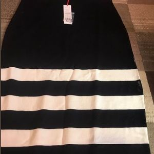 ELLE Black and White skirt. This is brand new